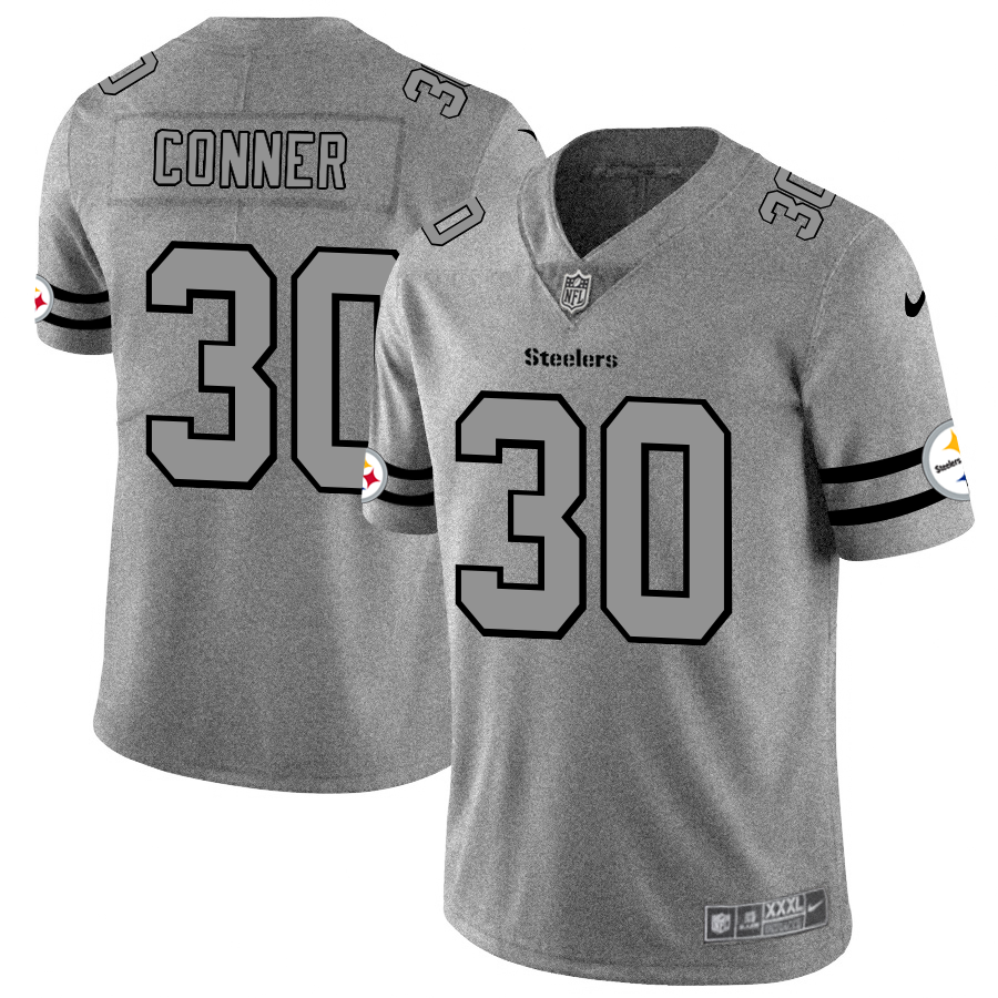 Pittsburgh Steelers #30 James Conner Men's Nike Gr cheap majestic jerseys free shipping